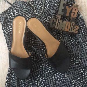 a7b0dc8ba4b Nine West Shoes - NINE WEST  Confetty  Cork Platform Slides